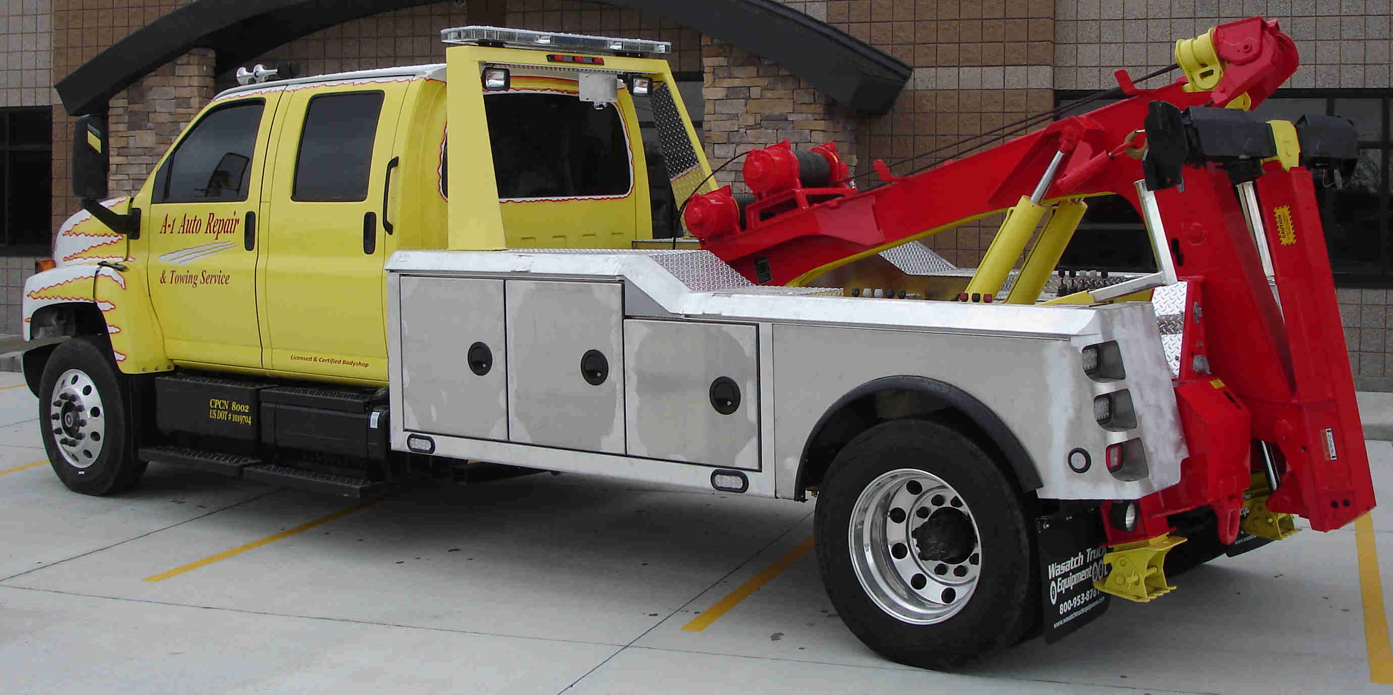 In The Shop At Wasatch Truck Equipment Ford 4x4 Wrecker For Sale | Autos Post